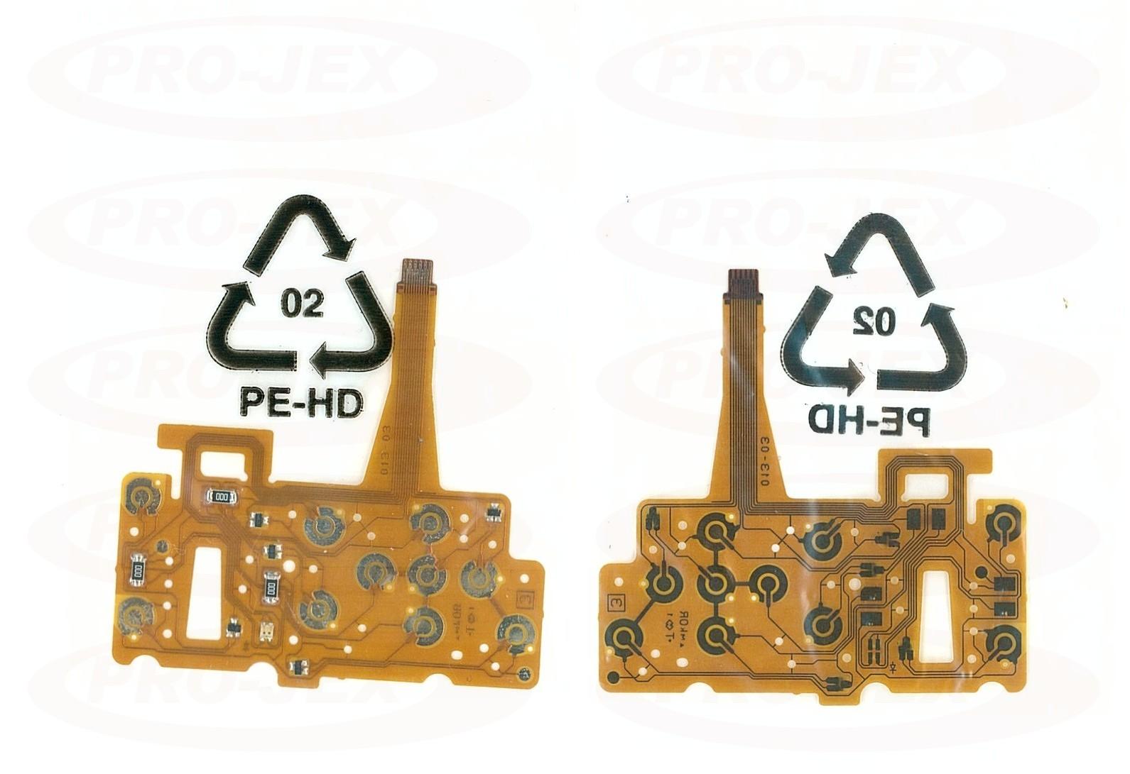 FLEX panel przyciski Fuji F470 F460