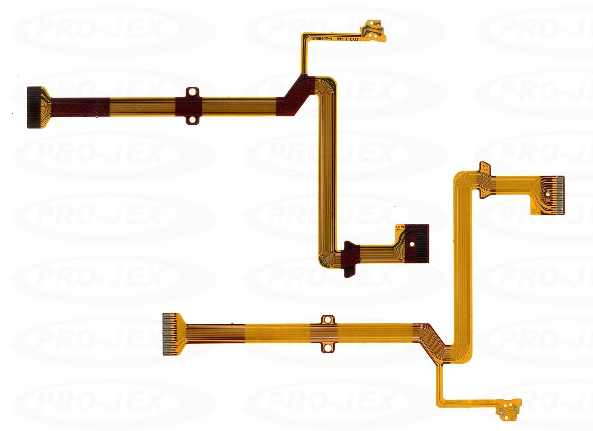 Panasonic NV-GS90 NV-GS98 PV-GS90 PV-GS98 LCD Flex
