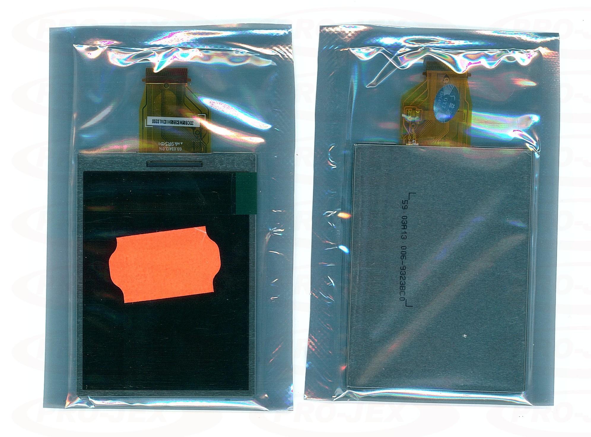 LCD FUJI FinePix J120, J130, J250 fd, J150 w