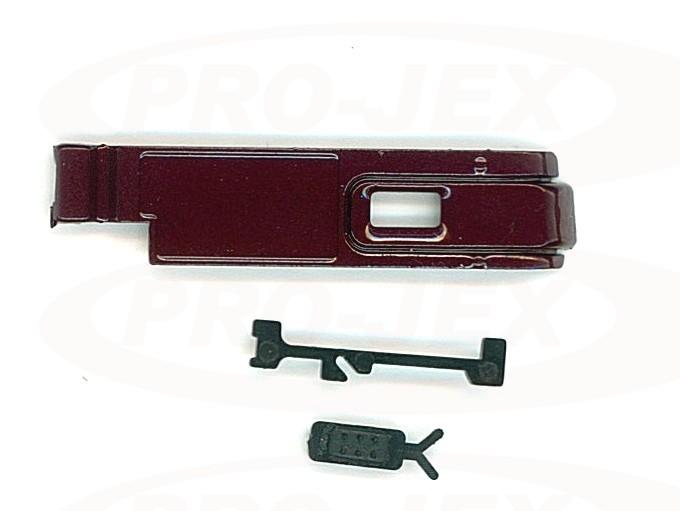 Klapka baterii CASIO S10 bordo
