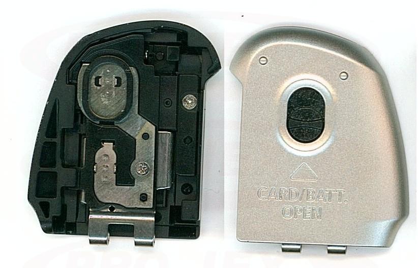 Klapka baterii Canon SX130 srebrna