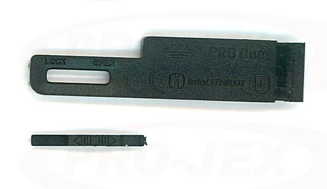 Klapka baterii SONY T70 czarna
