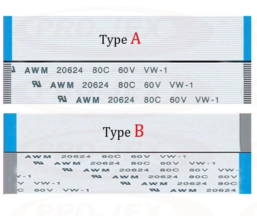 Taśma Flex FPC FFC VW-1 AWM 20624 80C 60V