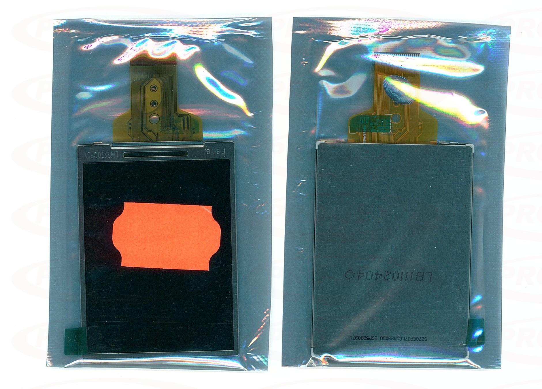 LCD SONY DSC-W630 DSC-J10