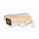 Kamera zewnętrzna obrotowa IP PZ 10x zoom 4 Mpix monitoring IR