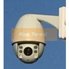 Kamera zewnętrzna IP PTZ 10x zoom HD 4MP monitoring IR metal